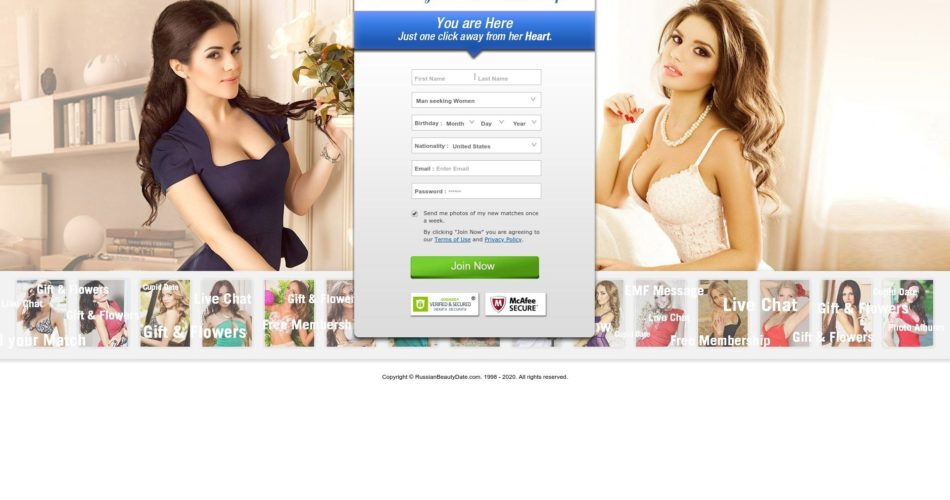 Russian Beauty Date Site Review Post Thumbnail